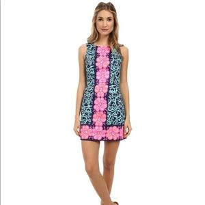 Lilly Pulitzer Fountain Hopping Delia Shift dress